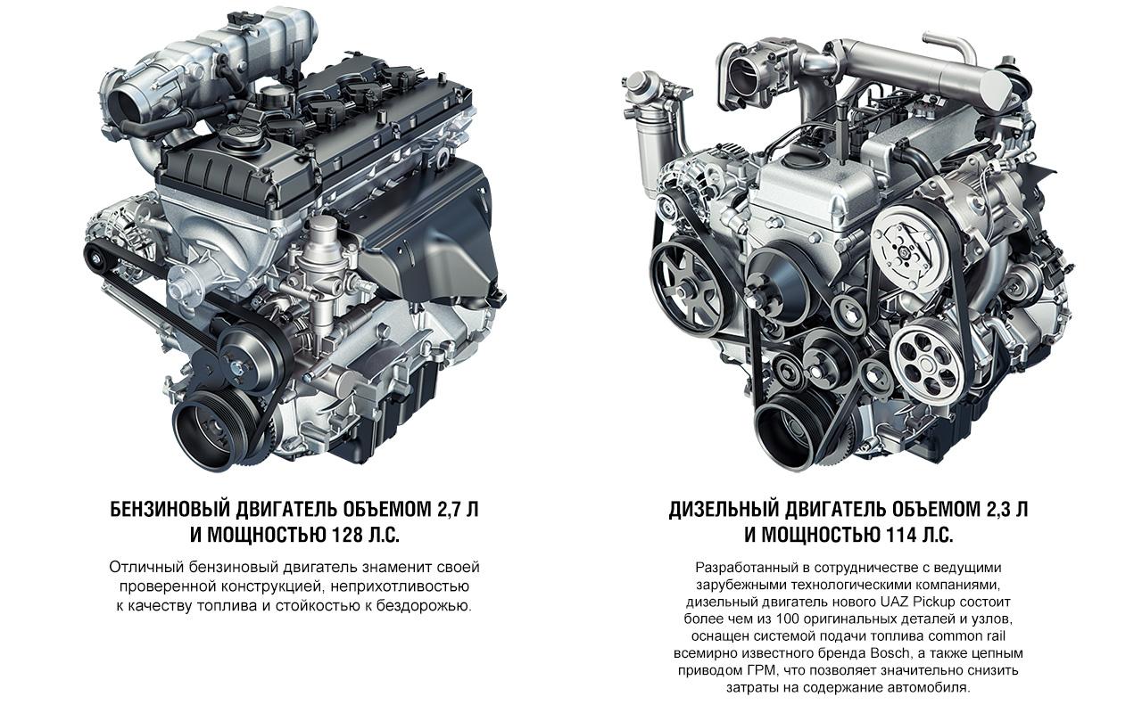 Дизельный двигатель для уазов